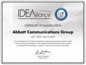 g7 master certification